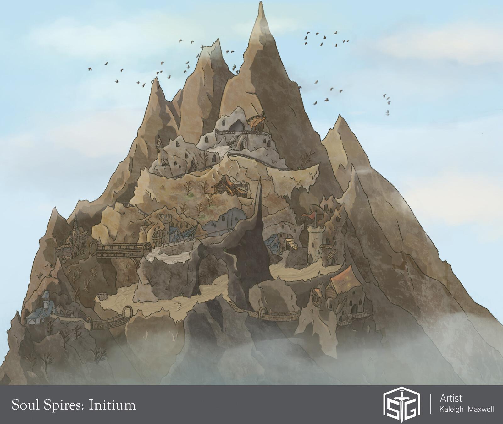 Soul Spires: Initium - Serra's City