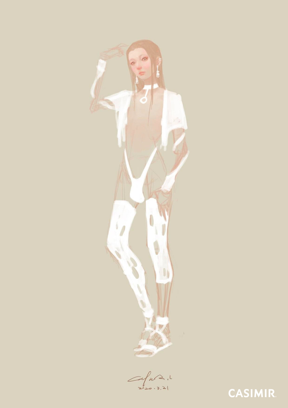 CASIMIR ART   http://www.casimirart.com  #ArtCASIMIR #CASIMIR #CASIMIRArt #female #drawing #fineart #painting #limitedprint #arterotica #eroticart #塔羅牌 #塔羅 #Tarot #tarot_card #tarot_cards