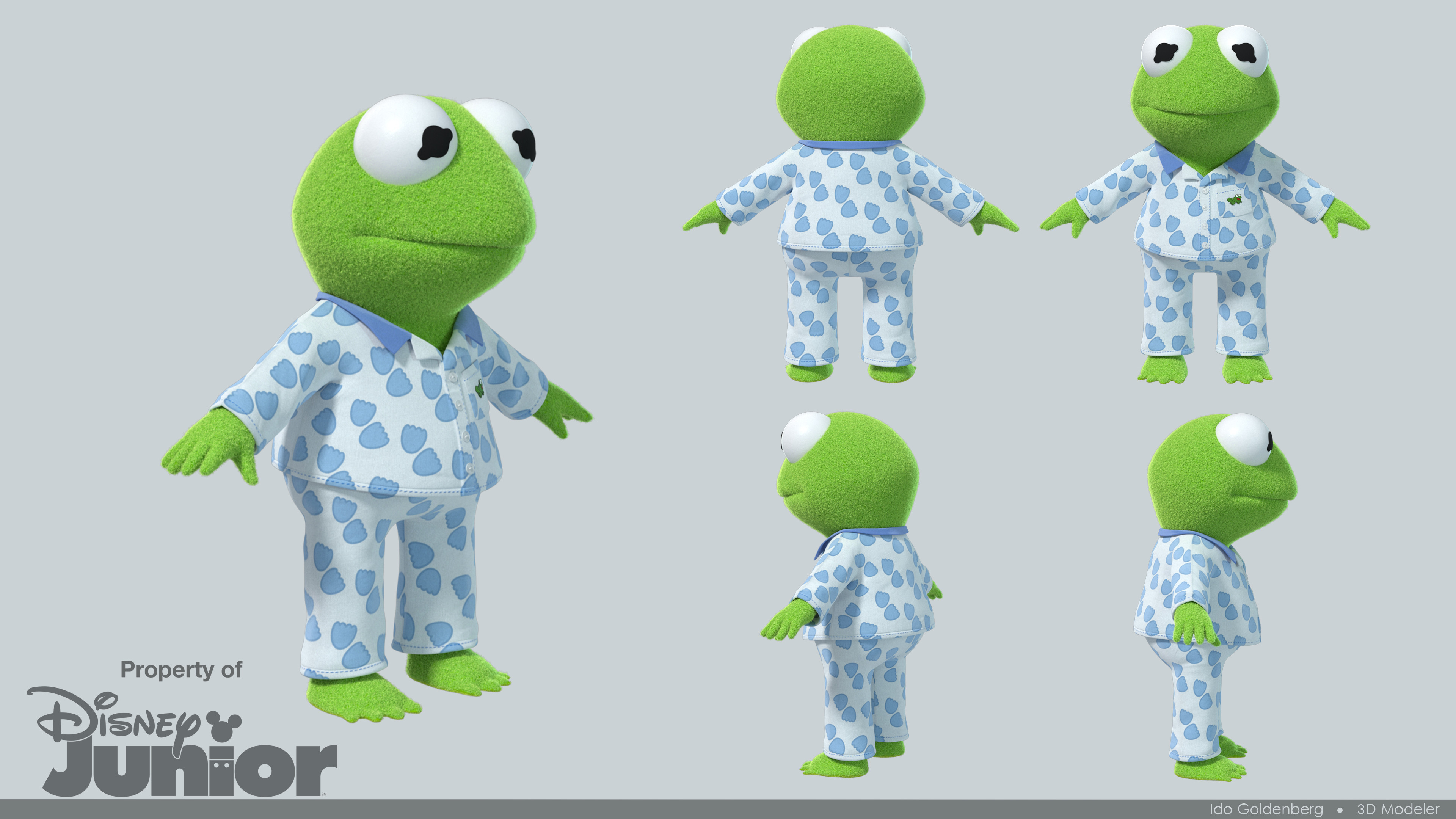 Kermit Variant props modeling Ido Goldenberg. Variant props surfacing by Alex Maslinka