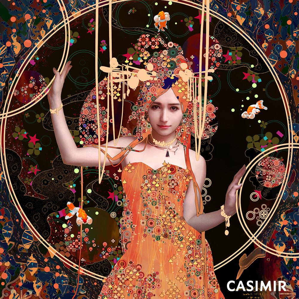 Bride II /花嫁 II   http://www.casimir.art