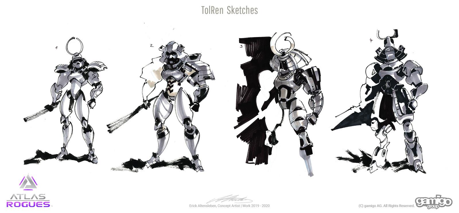 Ink & Marker on paper