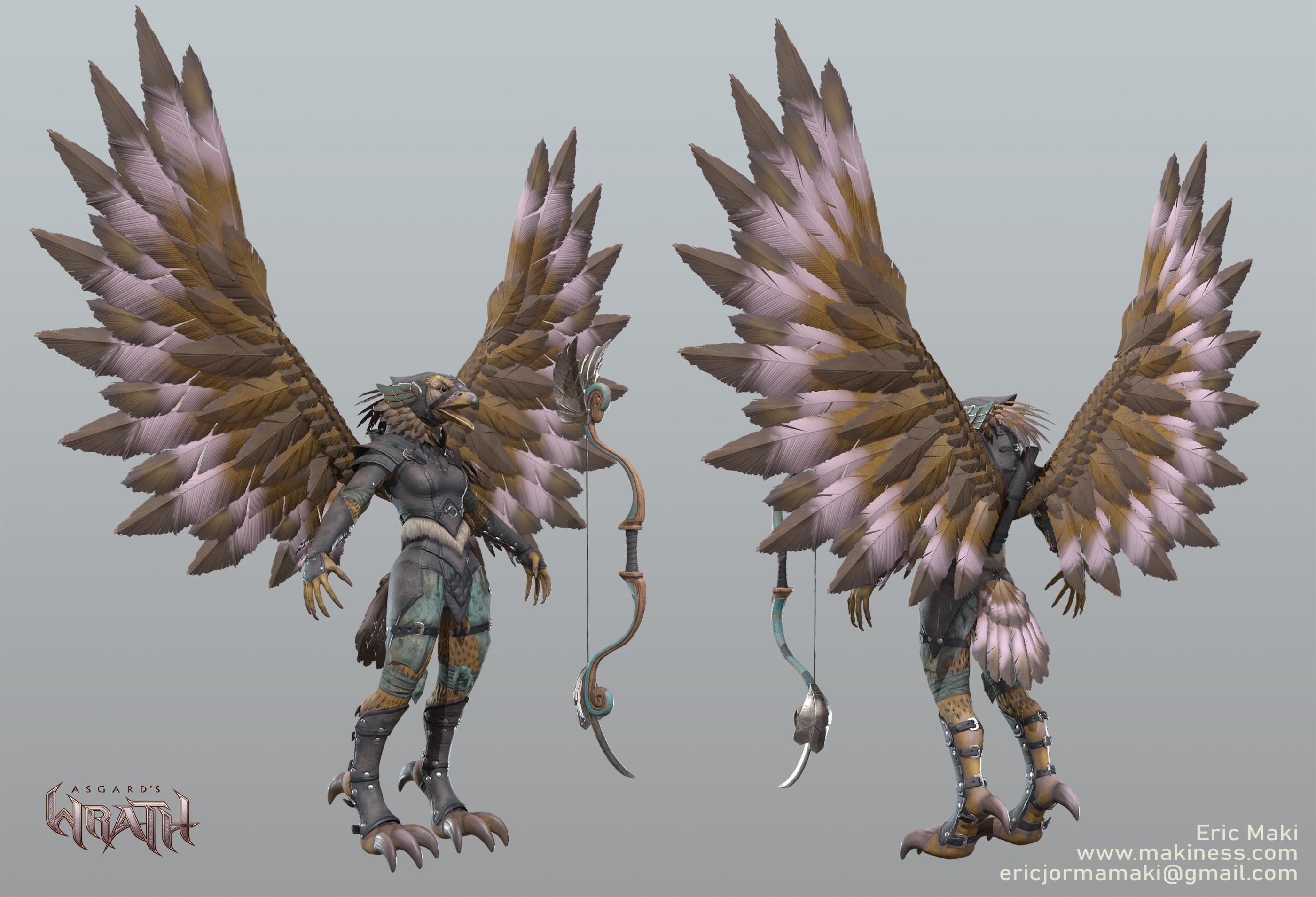 Eagle Summon Game Model