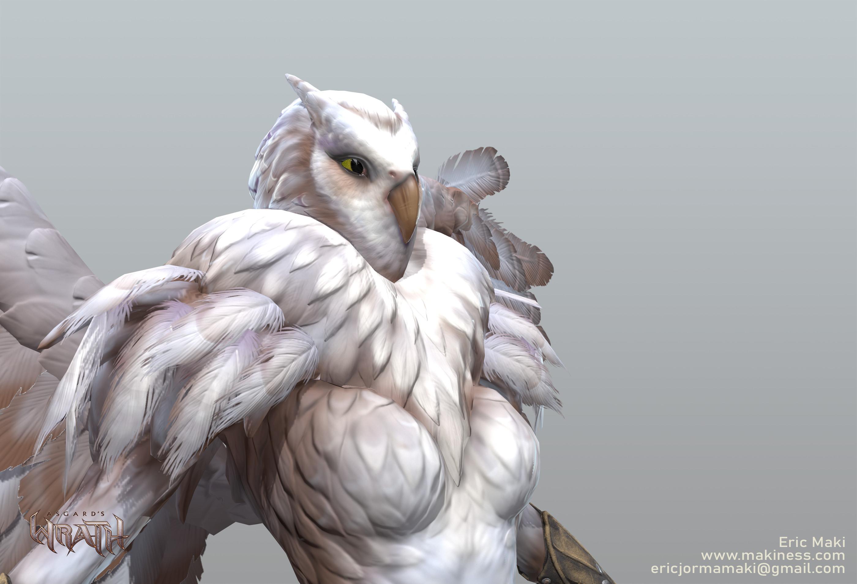 Owl Summon Game Model
