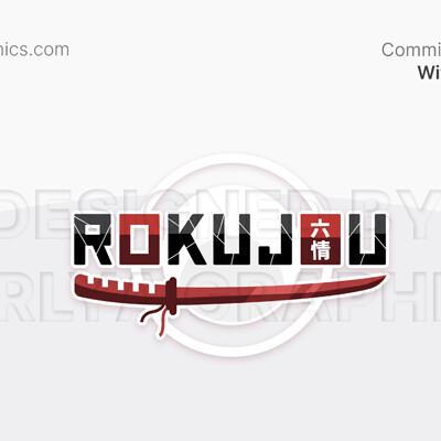 Aerlya graphics sample rokujou logo