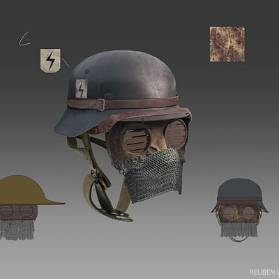 Reuben lane helmet designs 1