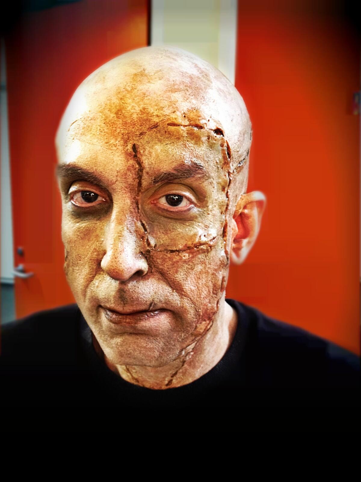 Frankenstein's Monster Make-up