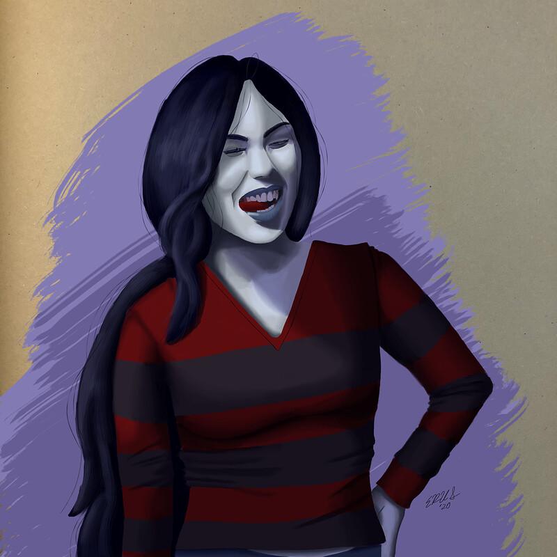 Marceline, The Vampire Queen