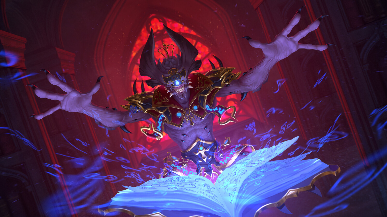 Thoth Demon Splash