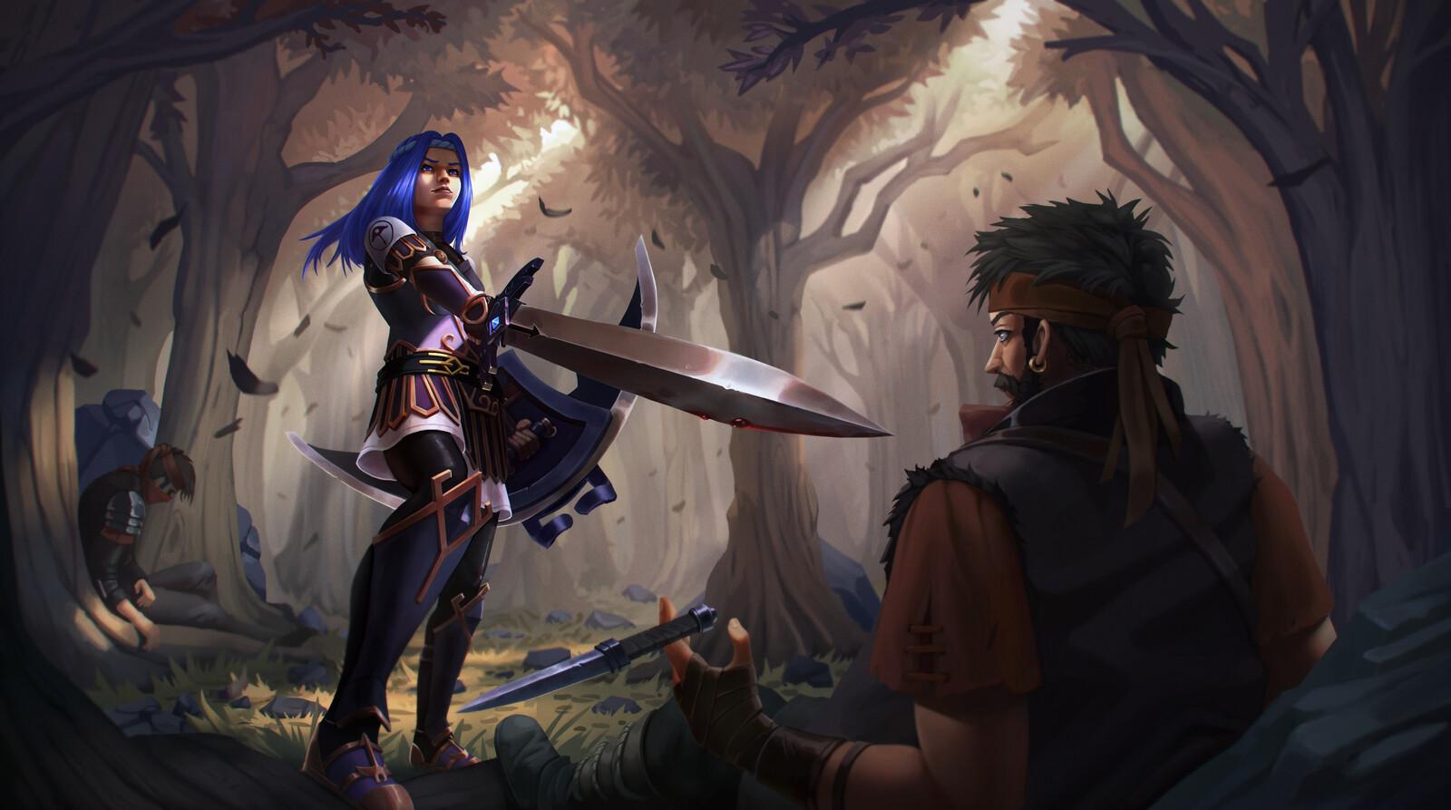 Aletheia's wrath