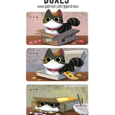 Piper thibodeau dp2999 comic boxes standardres