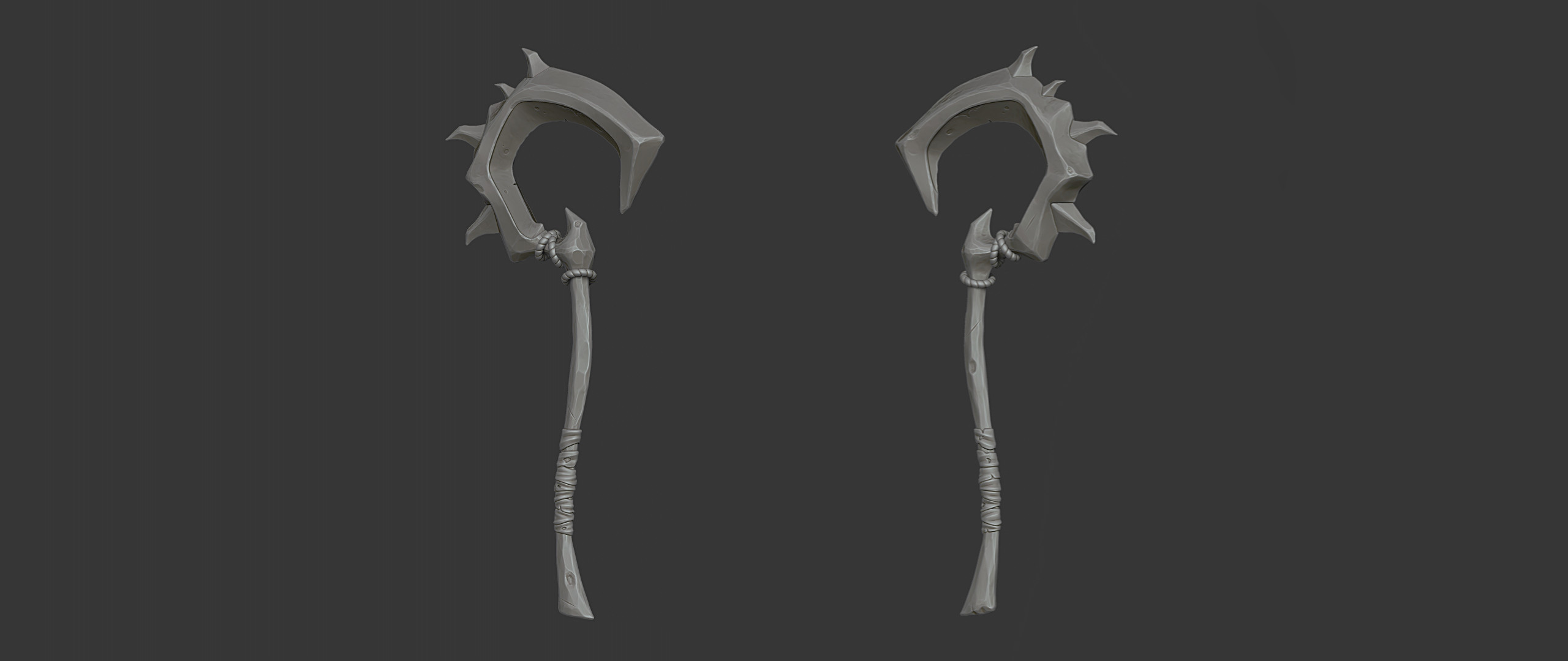 Character Weapon (Zbrush Render)