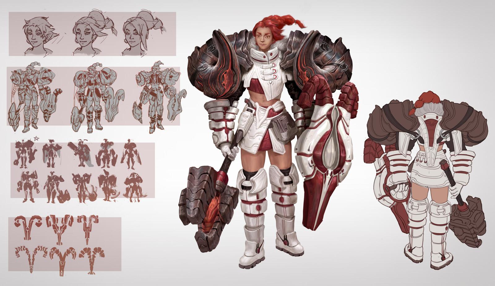 Aries Paladin Character Sheet