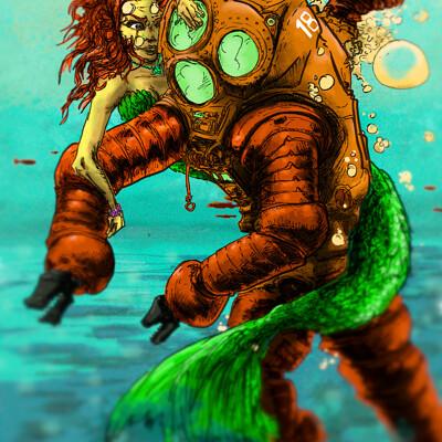 Fredrick lambuth under the sea3