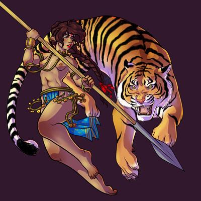 Arabella salvini tiger corr