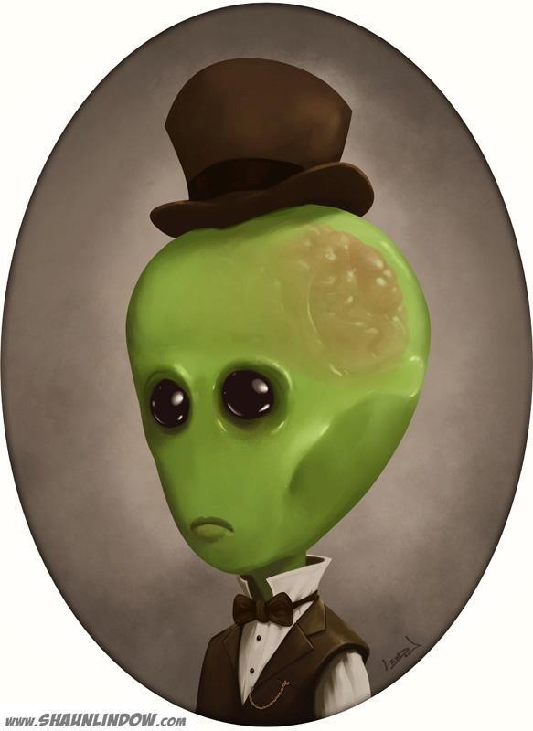 Victorian Alien