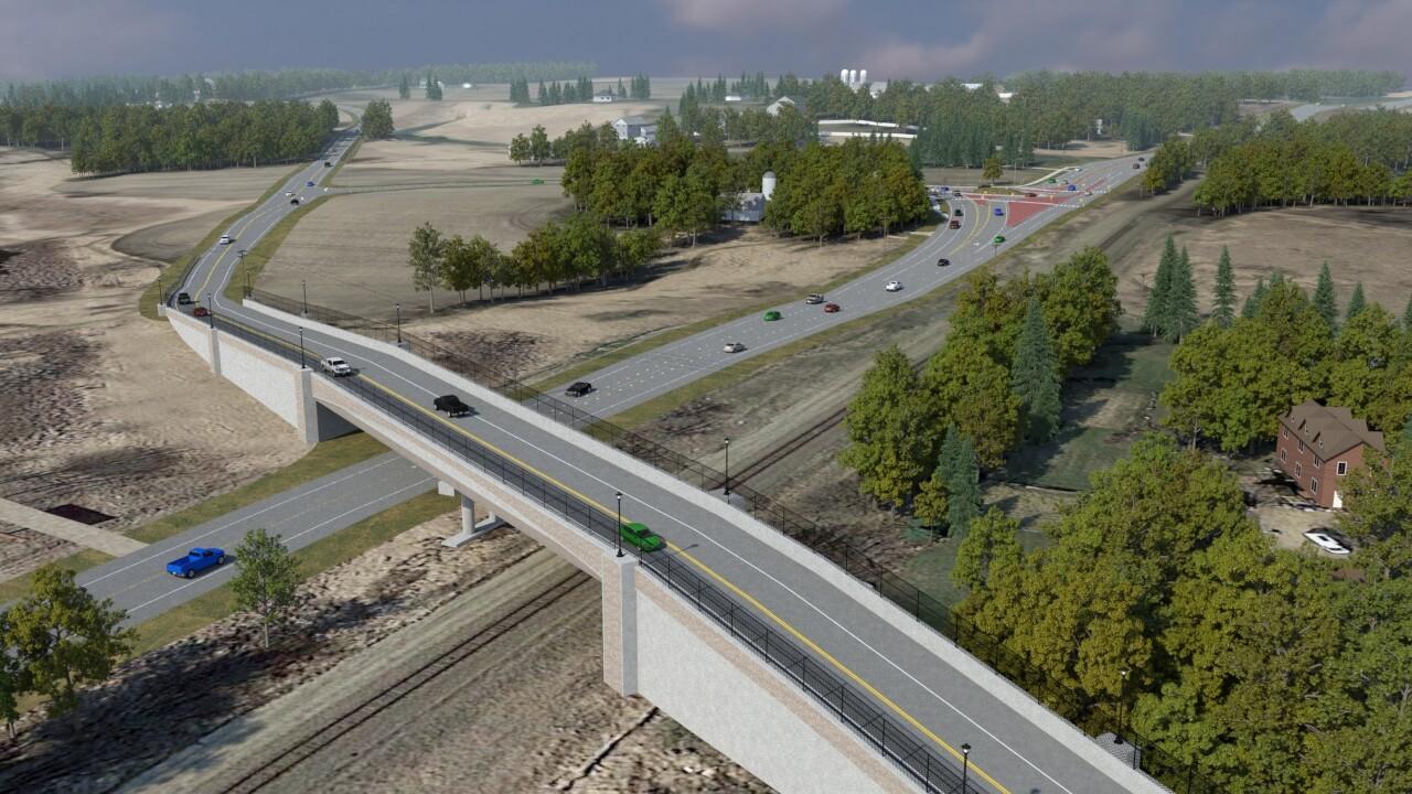 Proposed Bridge Crossing