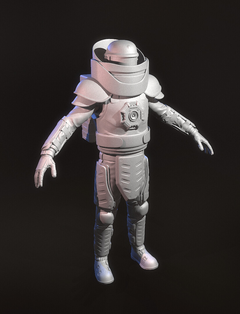 High Poly Front