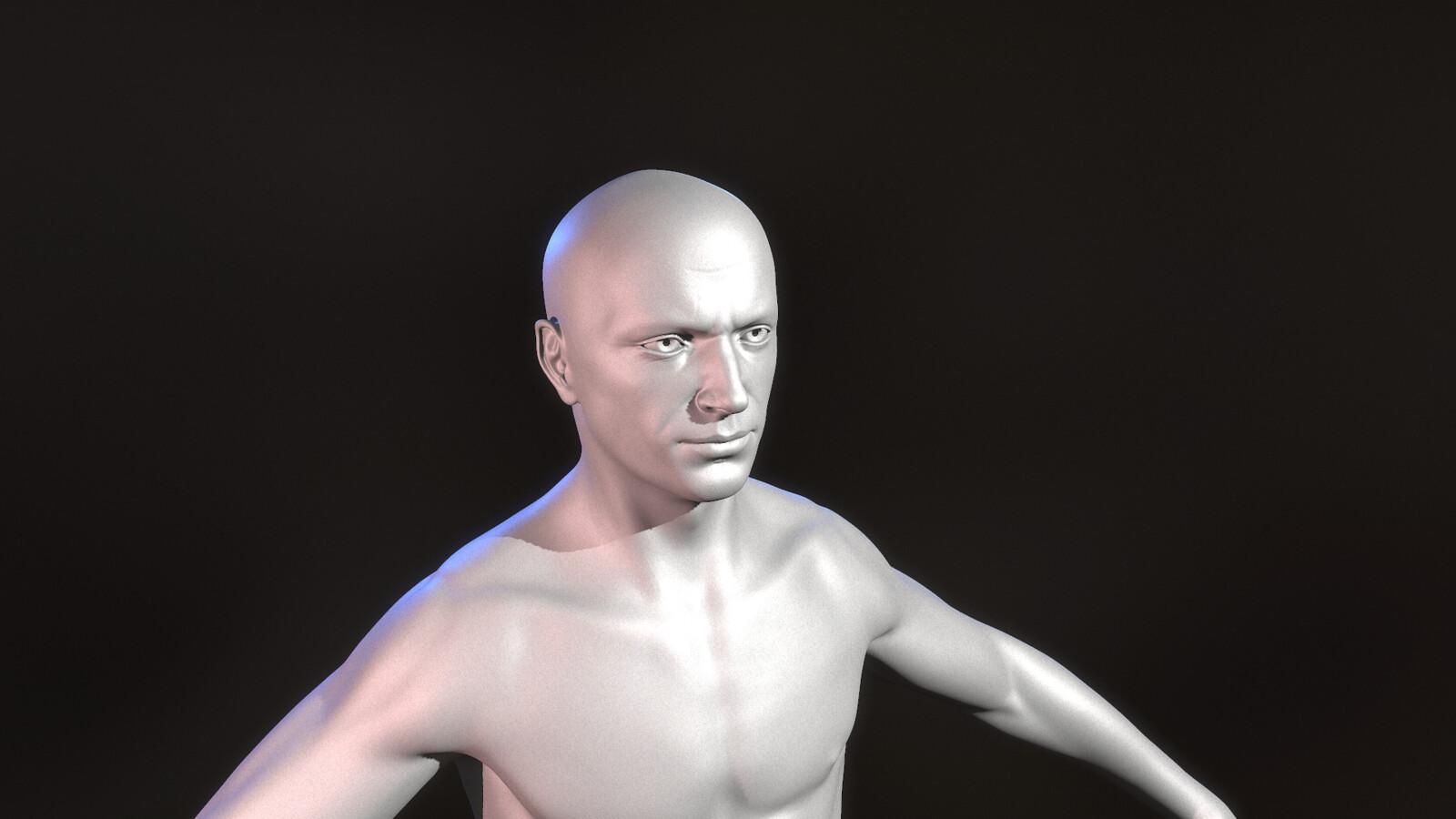 High Poly Head