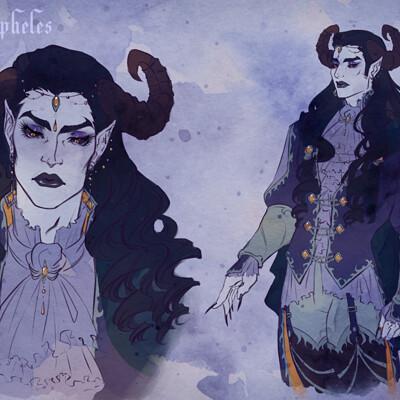 Claire leslie meph devil character sheet