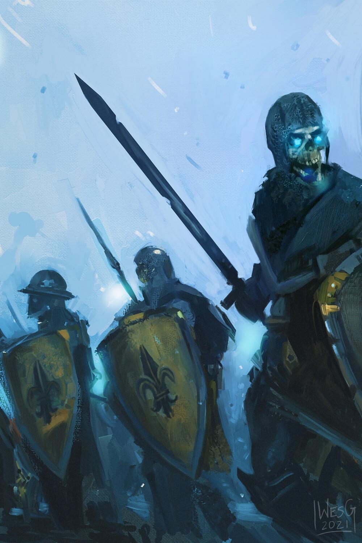 Bretonnian Undead Army