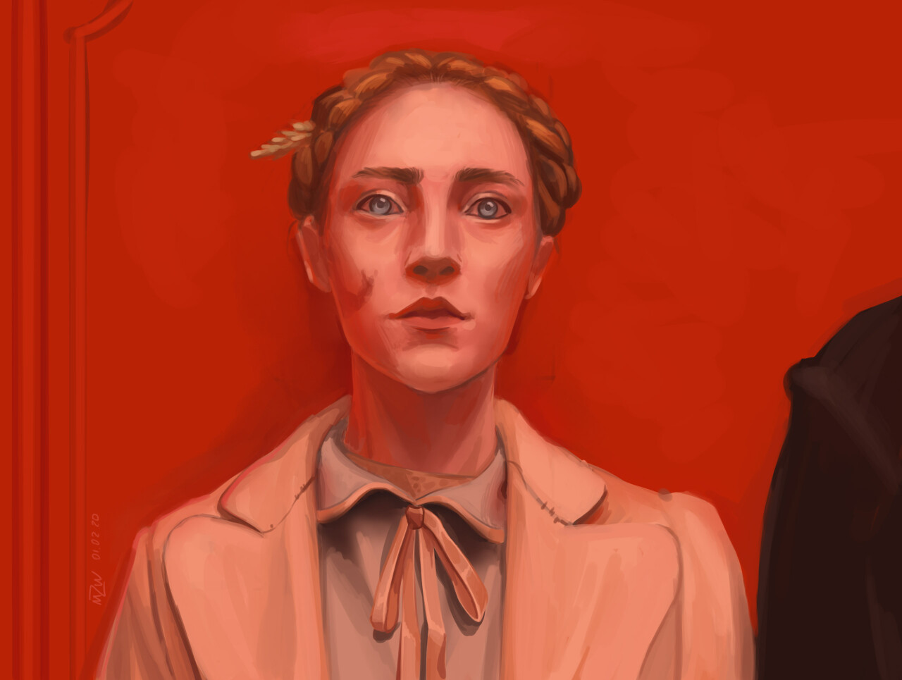 Saoirse Ronan from The Grand Budapest Hotel