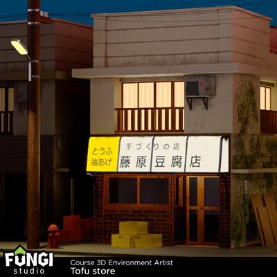 Modeo fungi artwork tofustore 01