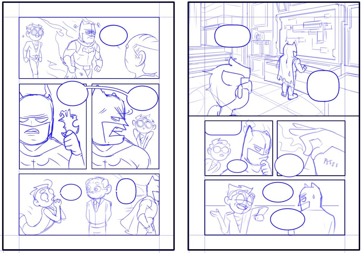 Pencils for pages