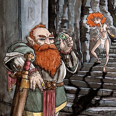 Thomas roberts goulden dwarrow songs of heimurinn rather drawn thomas roberts goulden