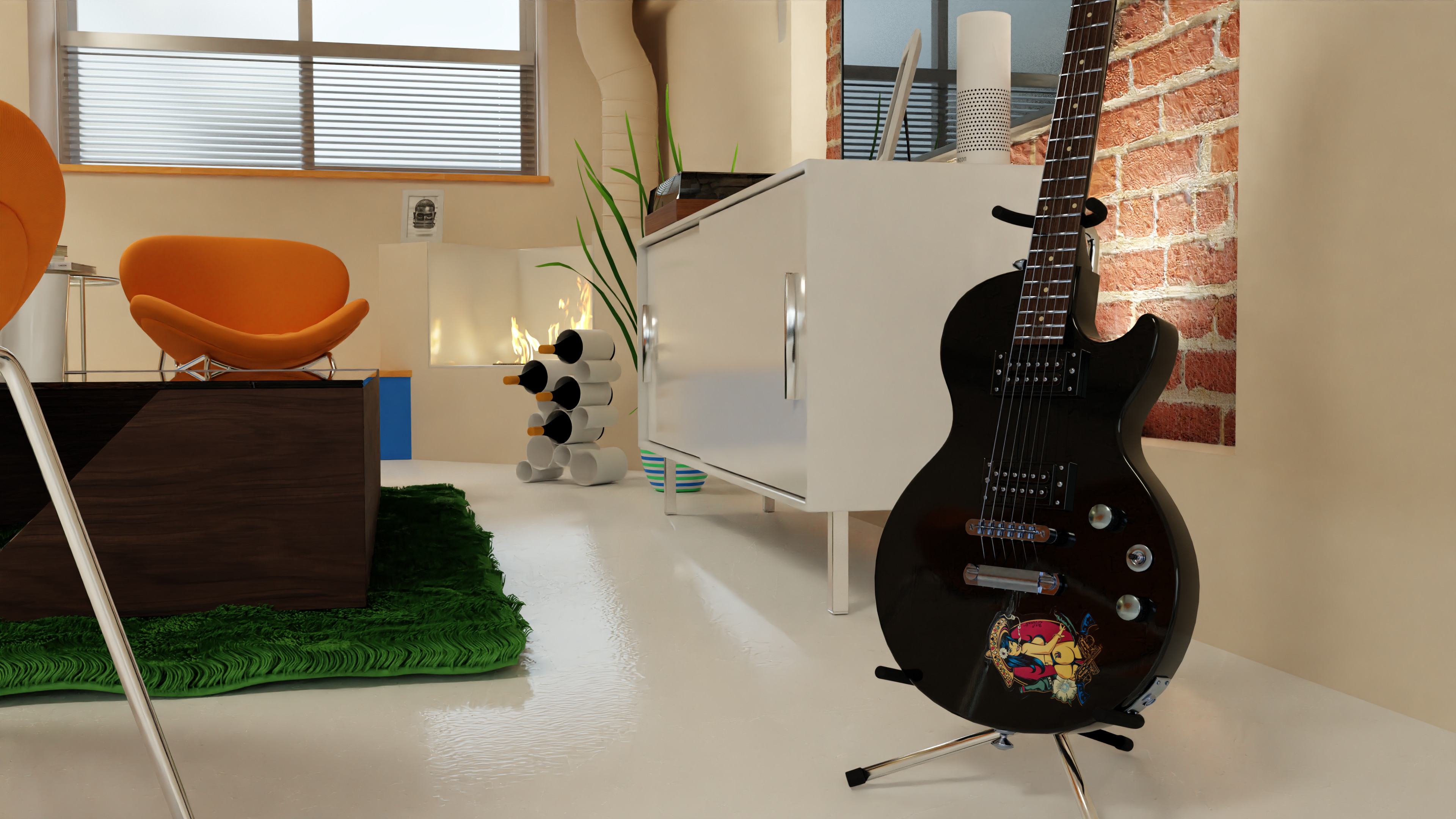 Guitar level.