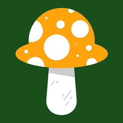 Philip smuland fungi orange