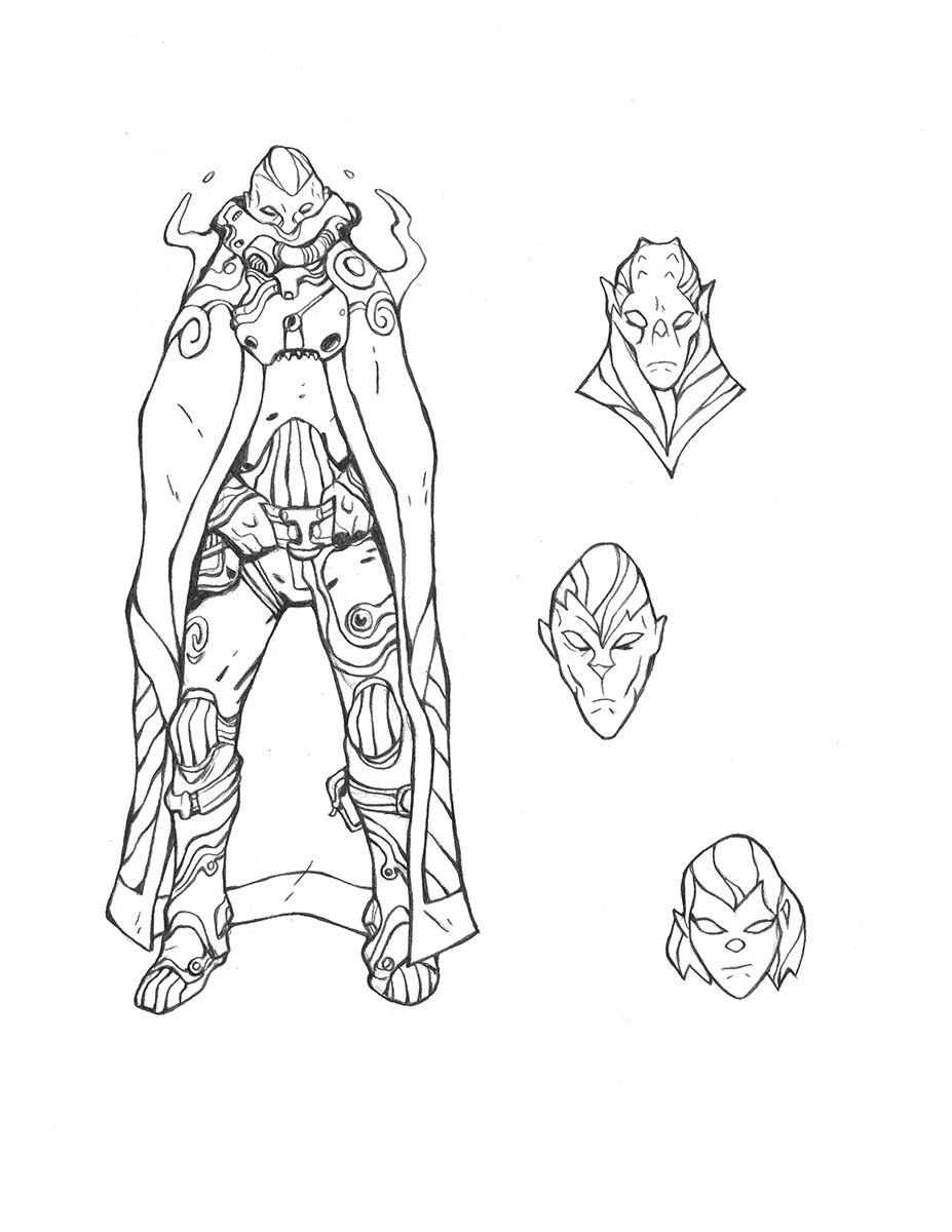 Codename: Empyre - XKult Infiltrator Roughs