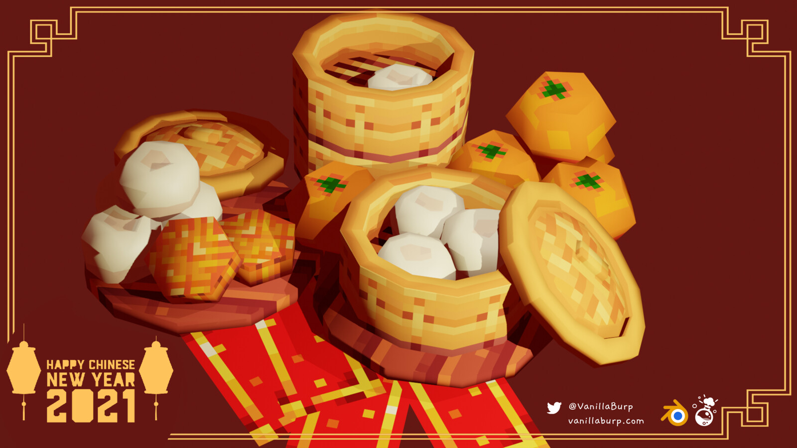 Pork buns & Mooncakes | Chinese New Year 2021