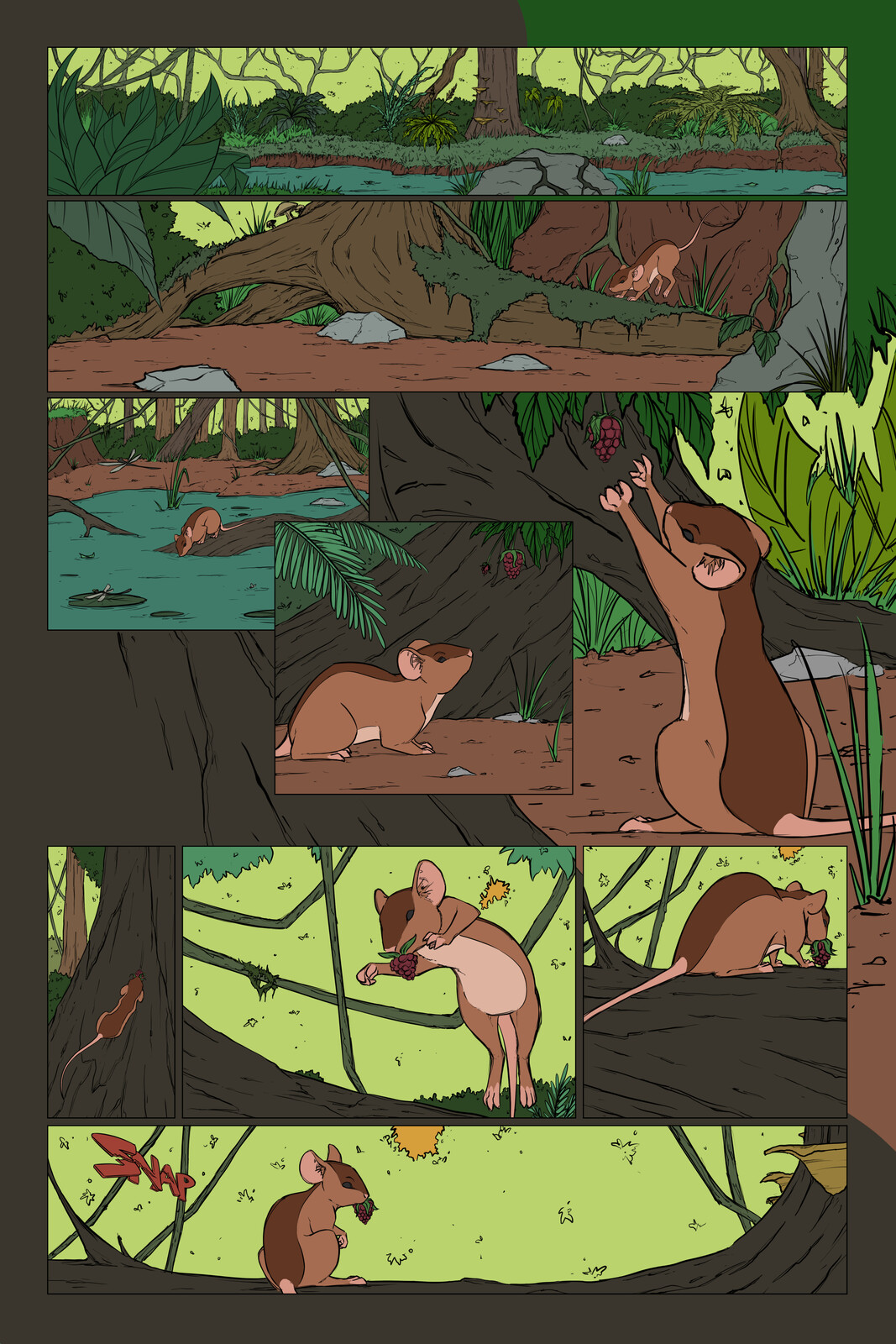 Will Not Bow Issue 4 - Page 1 - Flats