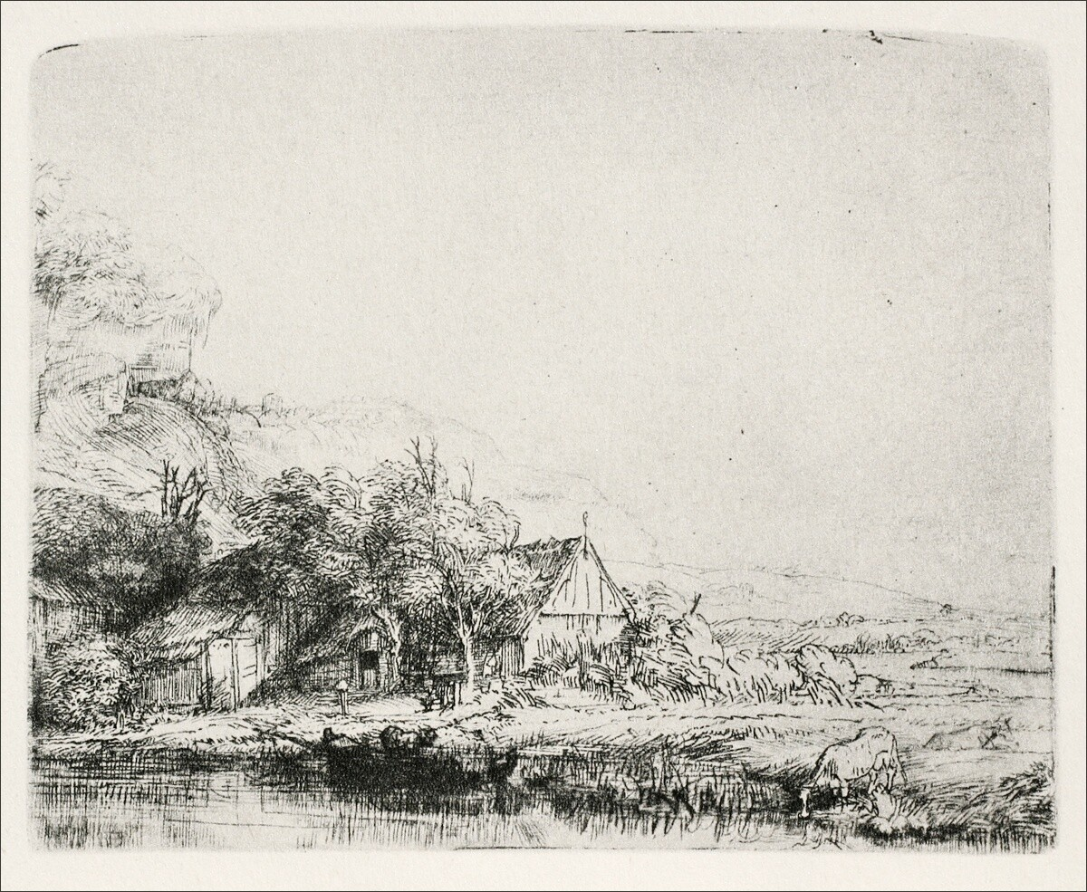 Sketch that Rembrandt made