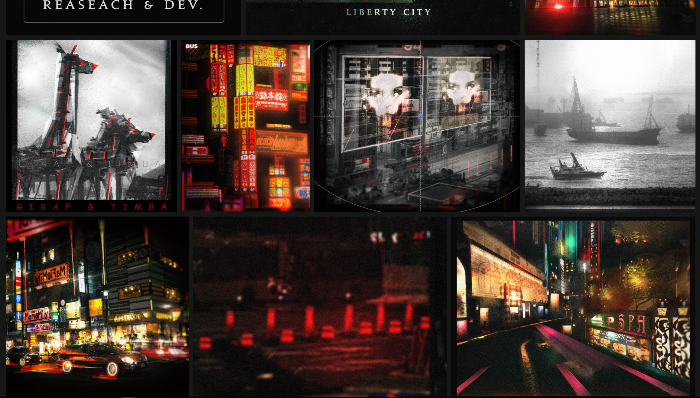 Snapshots in Liberty City.