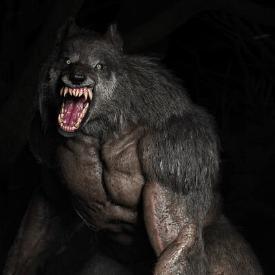Adam sacco adam sacco werewolf render01