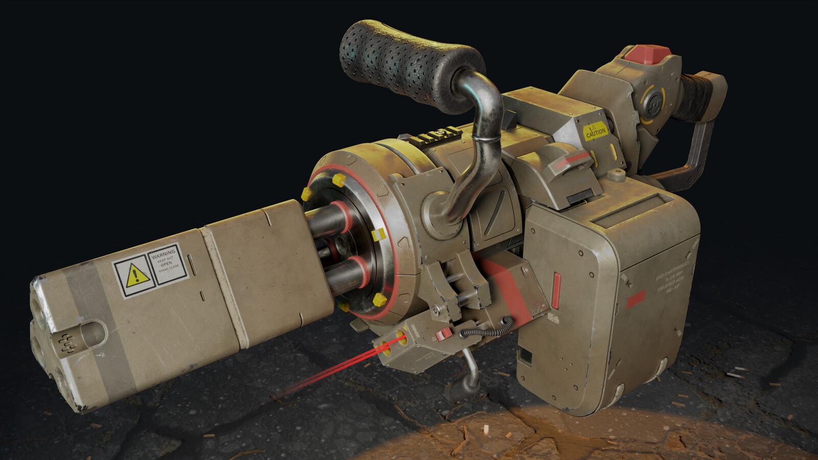 [WIP] Titanfall Marauder Minigun