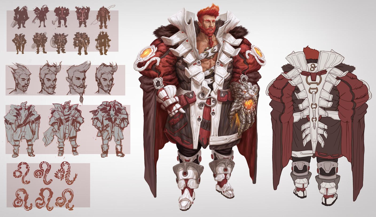 Leo Wizard Character Sheet