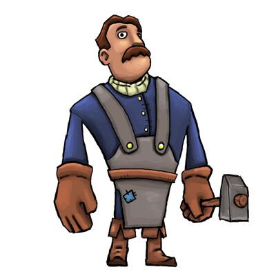 Kevin massey 19 blacksmith