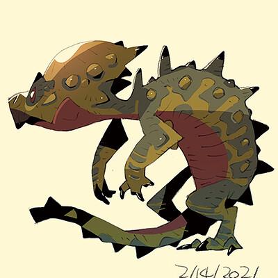 Satoshi matsuura 2021 02 03 pachycephalosaurus s