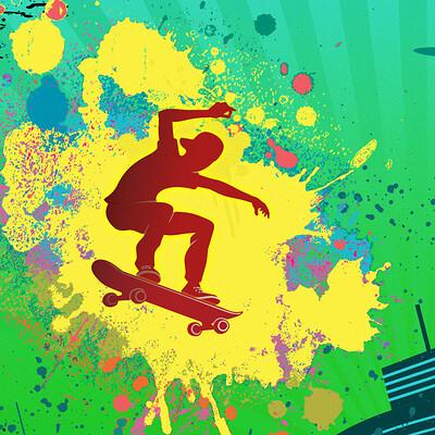 Lance laspina skateboarderposterprintfile 01
