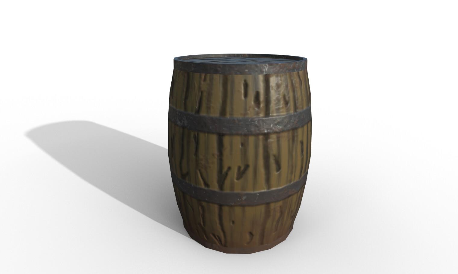Textured barrel
