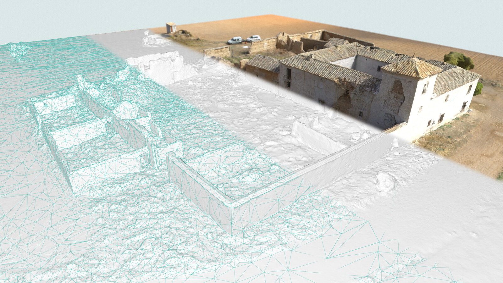 3D model breakdown