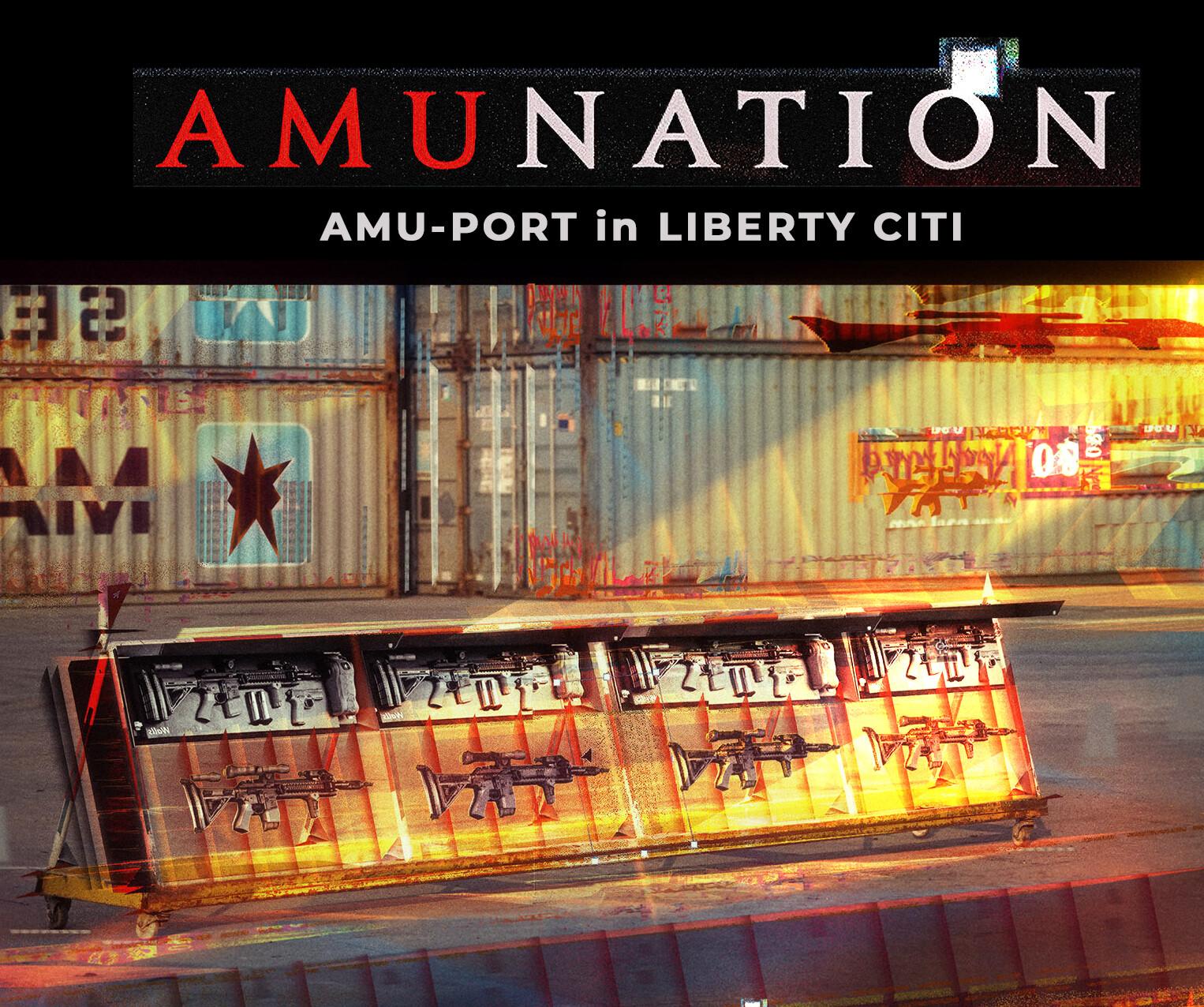 AMU-PORT in Liberty City.
