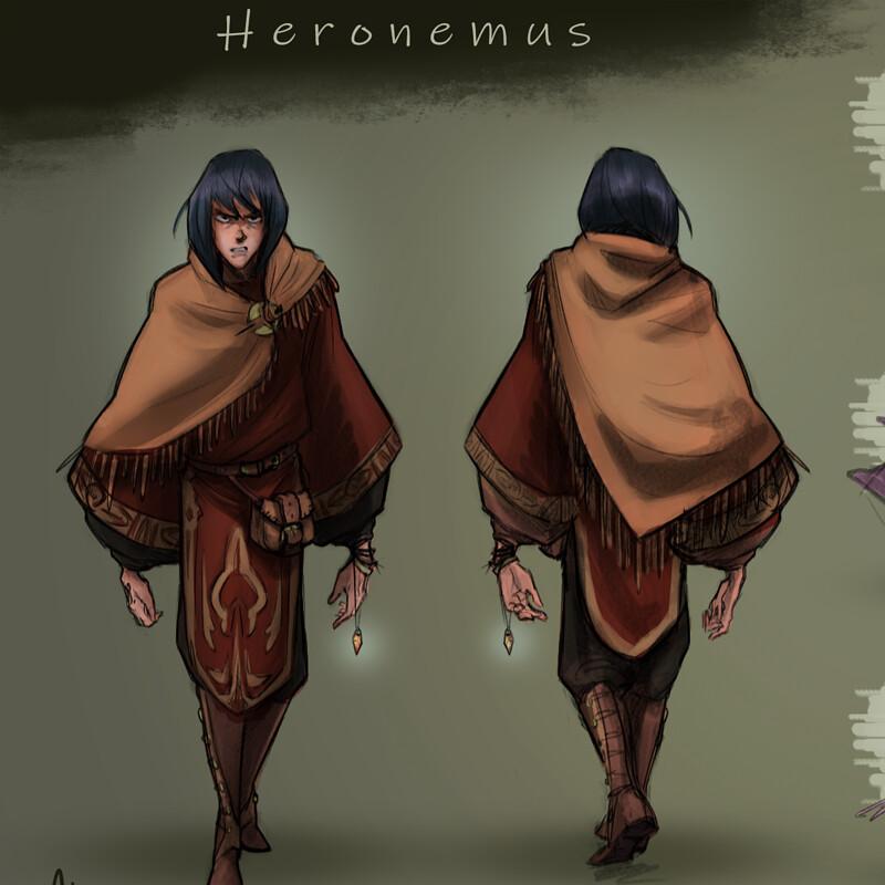 Heronemus Character Sheet