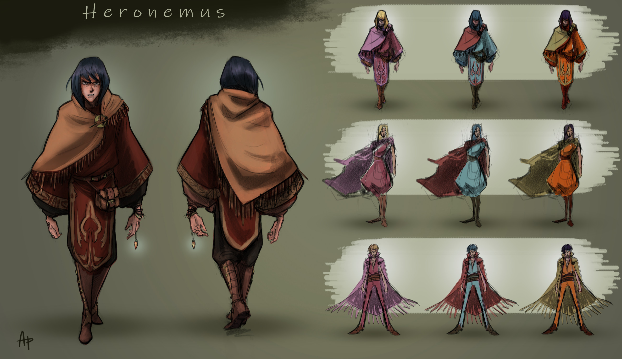 Heronemus concept with color comps