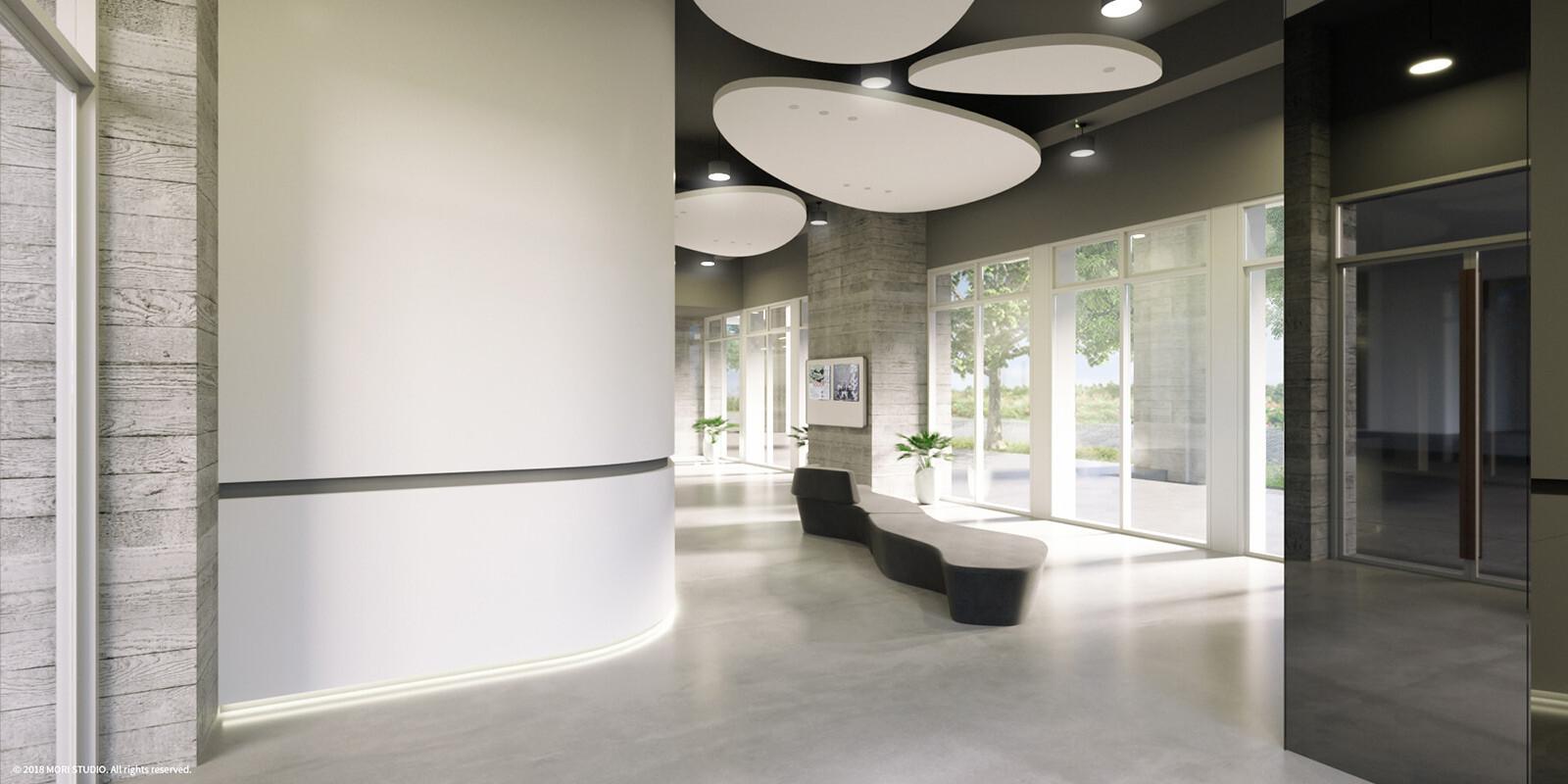 Portfolio | FCU Dormitory / Public Space, 2020
