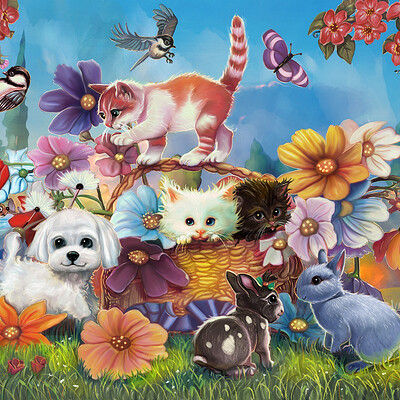 Okan bulbul flowers and baby animals okan insta