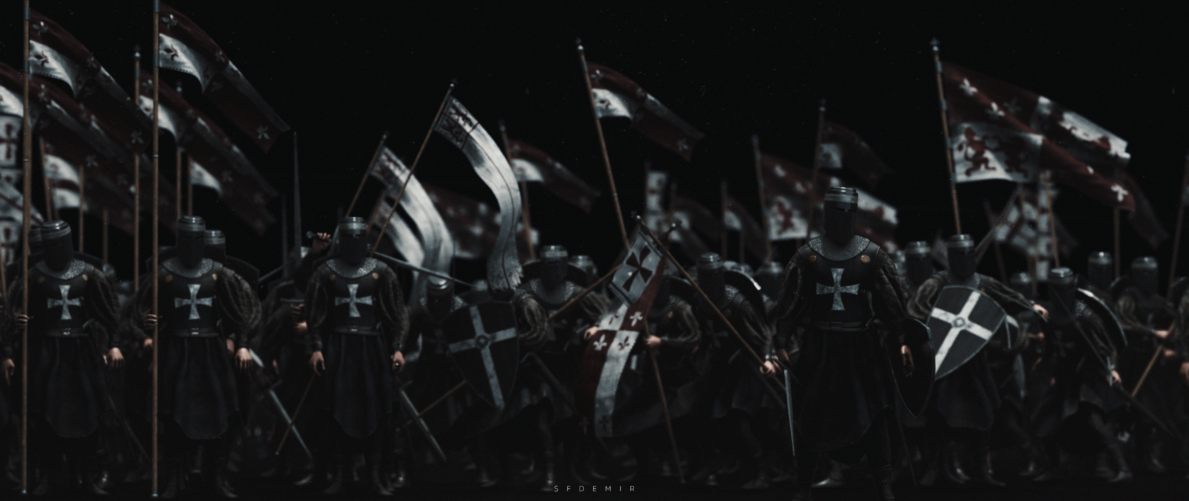 Preparing For War Scene - Shot 05
