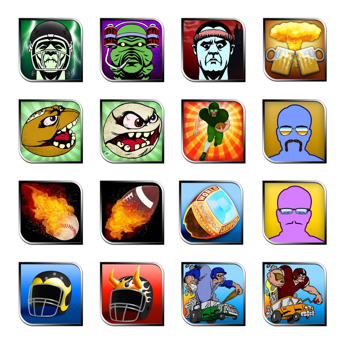 Player icons